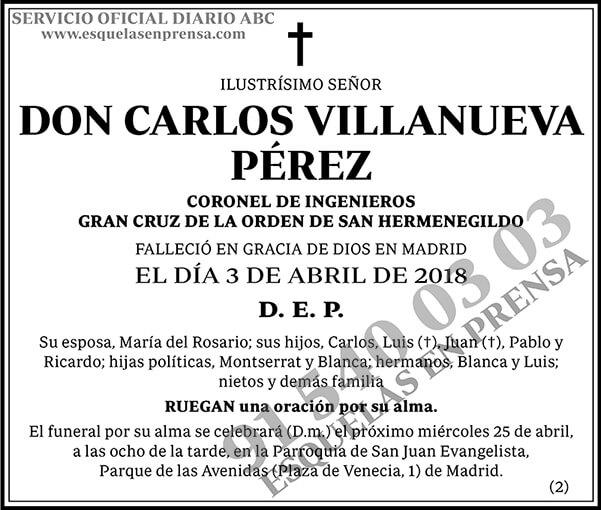Carlos Villanueva Pérez